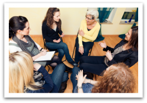 Alina Baugh, LMFT  offers support groups for  women