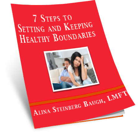 7 Steps to Setting and Keeping Healthy Boundaries by Alina Baugh, LMFT