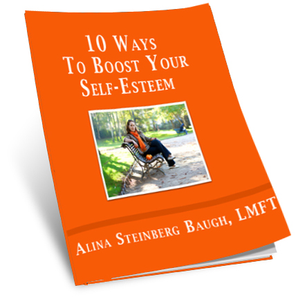 10 Ways to Boost Your Self Esteem with Alina Steinberg Baugh, LMFT
